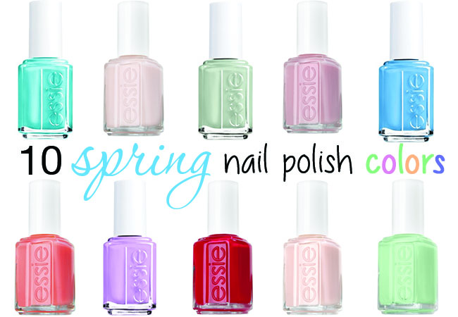 manicuremonday spring into new polish colors mika jolie