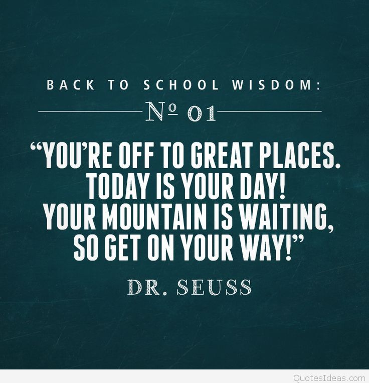 Back To School Quotes Mika Jolie